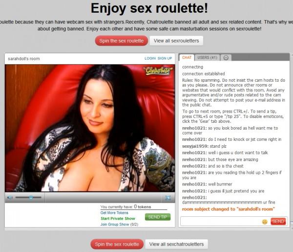pormn roulette